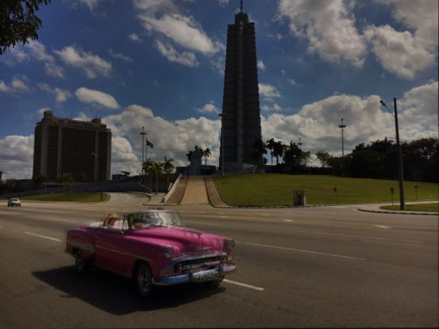 View of the Plaza de la Revolucion