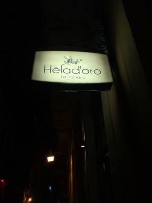 Helad'oro- new ice cream shop
