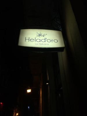 Helad'oro- new ice cream shop