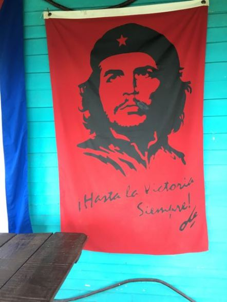 Pictures and such of Che Guevara are everywhere...and I mean everywhere.