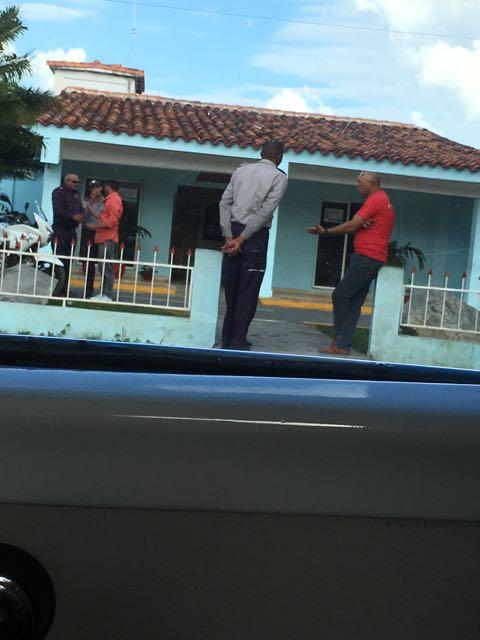 annnd Ernesto gets pulled over. SMH