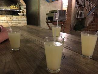Welcome fresh pineapple juice