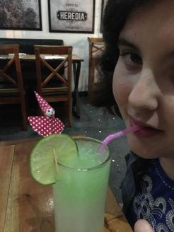 and a lemonade