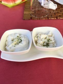 Mayo and queso fresco