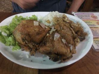 La Vicaria, Varadero, Cuba- fried chicken