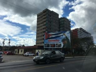 Sights of Havana, Cuba- propaganda of Fidel Castro