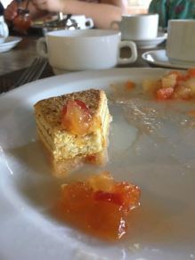 Almost forgot to take a photo of the pastry and amazeface marmalade.. soo good!