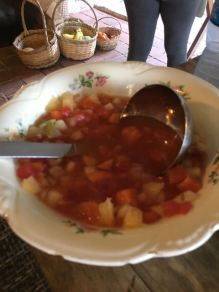 The soupy fruit salad