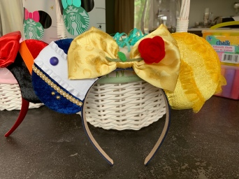 Beauty and the Beast Minnie Ears for H