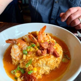 Shrimp and Grits.. my lord!