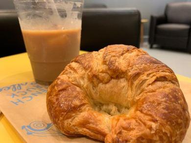 Then a croissant