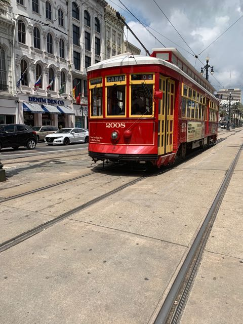 Canal St Trolley