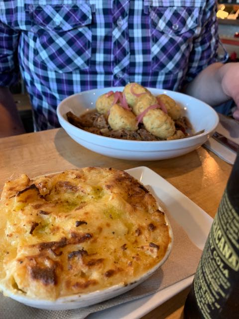 Mac n Cheese and Beer Beef Bowl- Butcher Cochon