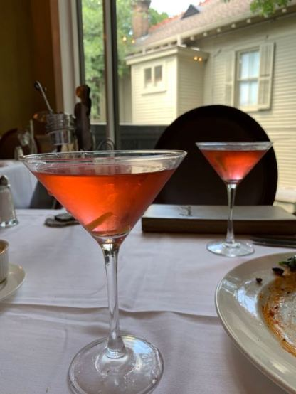 more martinis? sure! - Commander's Palace NOLA