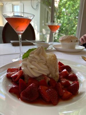 Strawberry shortcake- Commander's Palace NOLA
