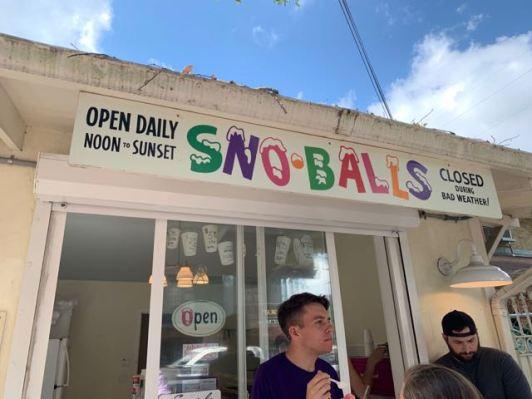 The famous Sno-Balls