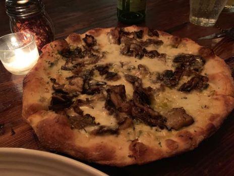 Mushroom pizza - Paladar511- NOLA
