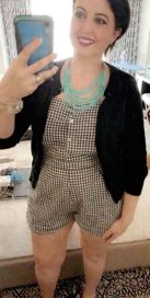 Gingham jumper...