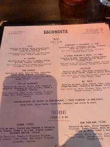 Escondite Restaurant