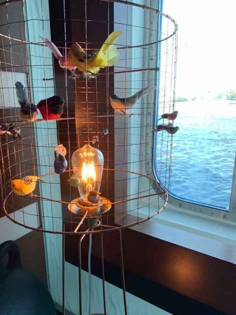 And this bird lamp