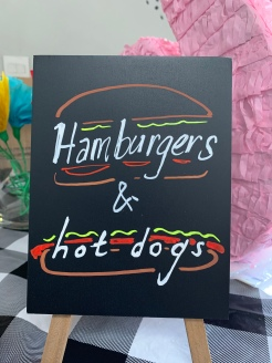 Hamburgers and Hot Dogs