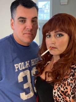 Al and Peggy. I loved how he tried to look like Al! haha